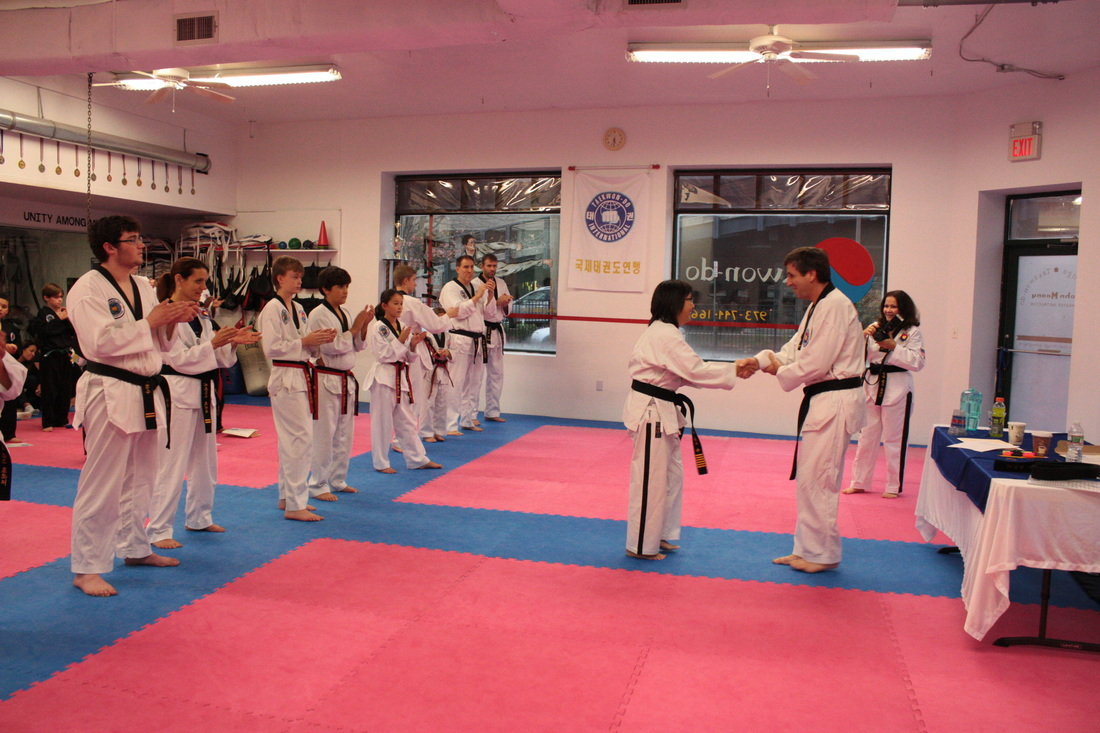 Taekwondo second degree black belt essay